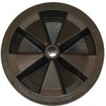 Täyskumipyörä 250x70mm, muovivanne